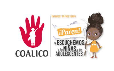 Nota de prensa: Por una conmemoración del día de la mujer que incluya a las niñas, adolescentes y jóvenes en Colombia