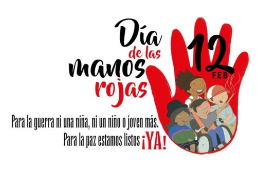 Día de las Manos Rojas 2016